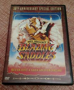 Mel Brooks Blazing Saddles DVD 30th Anniversary Special Edition Widescreen 2004
