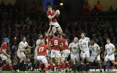 Ian Evans - British and Irish Lions forwards in pictures