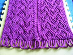 Ravelry: Puzzle Scarf III/14 - full pattern pattern by Devorgilla's Knitting (sometimes...)