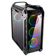 PANZER EVO RGB is the perfect combination of four massive tempered glass covers and four powerful RGB fans in an exceptional case. Computer Technology, Computer Science, Clash Of Clans Cheat, Android Pc, Computer Hardware, Evo, Home Goods, Gaming, Articles