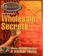 Four Booklet Set- Wholesale Secrets, Auction List, No Money? No Problem! and The Next Level