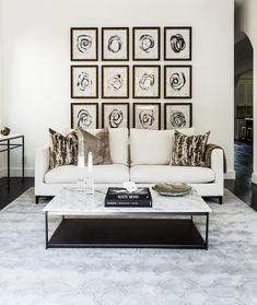 11 Wonderful Modern Sofas In Living Room Projects By Elysienne Decor, Interior, Modern Sofa Living Room, Cheap Home Decor, Home Decor, Living Room Art, House Interior, Interior Design, Elegant Decor
