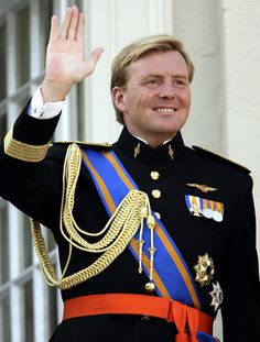 Guillermo de Holanda será coronado rey Guillermo IV el próximo 30 de abril #realeza #royals #royalty #netherlands #william
