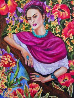 Impresión de Frida Kahlo Frida Kahlo Art Poster arte
