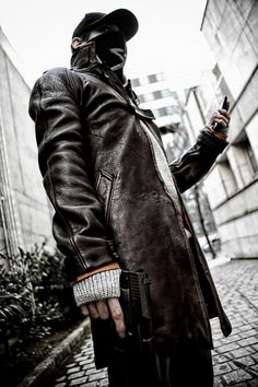Very nice cosplay by Pierre Seith Sanchez - Watch_Dogs