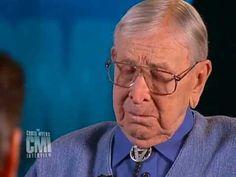 Chris Myers interviews John Wooden