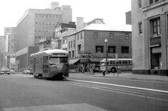 DC Transit PCC on 14th Street NW.
