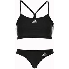 adidas Sport Performance Bikini I 3s (280 CNY) ❤ liked on Polyvore featuring swimwear, bikinis, adidas bikini, bikini two piece, adidas swimwear, bikini swimwear and adidas