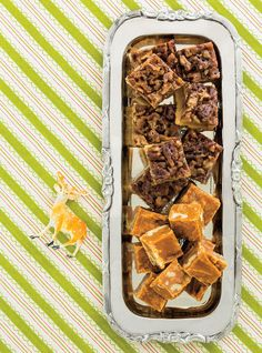 Maple pecan squares. I made these. Bruce and I ate all 36 servings quickly. Kids got none. Normally would make them try new things but when they said no we just ate their portions. They were that good. Subbed whole grain in short bread and toasted the pecan and added vanilla. Next time though will not boil the pecans in the mix as it may have made the pecan soft. Will instead make the mixture separately and pour it over the pecans.