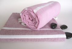 Traditional Handwoven Turkish Bath Towel Light & by TheAnatolian, $28.00