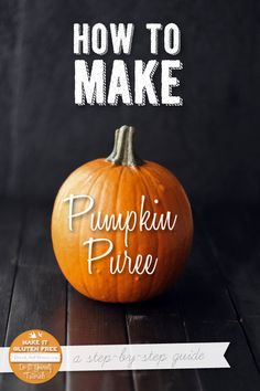 How To Make Homemade Pumpkin Puree {Beard and Bonnet}