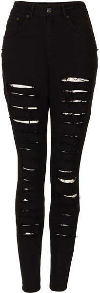 Shred Bare Jeans - Lyst