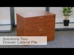 Contemporary Lateral File | National Business Furniture