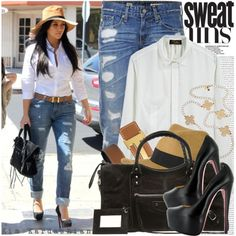 Simple fashion.  Could live in jeans and a white top with tons of accessories