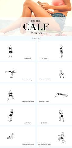 The best exercises for sculpted, strong and feminine legs! If you want your legs to look amazing in high heels you need to start paying special attention to your calves. Strong and sculpted legs not only look fabulous in a short dress but can also help you boost your athletic performance and provide your body with a solid foundation to build upon. Add these 10 exercises to your leg workouts, engage your calves and feel the burn!