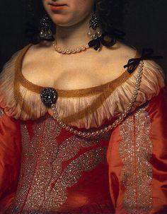 Portrait of a Woman (detail) | Bartholomeus van der Helst | 17th c.