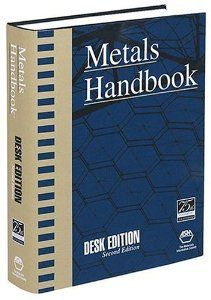 """Metals Handbook Desk Edition, Second Edition    The """"best"""" of the ASM Handbook in a single volume. If you happen to personal just one e-book on metals and alloys, that is it!  If you are looking for this ebook you probably already know what it is. In case you are in materials associated research, it is imperative that you simply purchase this book. It accommodates compositional tables that are invaluable if you usually find yourself taking a look at an EDS spectrum and you might be…"""