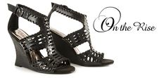 Add a little #drama to your look in the #chic Carlos by @Carlos Santana BECCA #sandals. #CarlosSantana #CarlosShoes