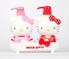 Hello Kitty Pump Dispenser Set