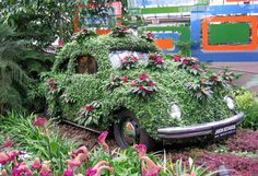 cars as gardens - Google Search