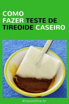 Teste de tireoide - Caseiro com Iodfo