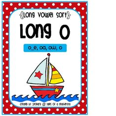 This station includes 4 long O spelling patterns. Students will read the words and sort them into the correct group according to the spelling patte. Spelling Activities, Sorting Activities, Classroom Activities, Oa Words, Hooked On Phonics, Spelling Patterns, Long Vowels, Word Sorts, Teaching Language Arts
