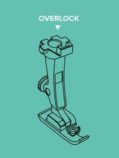 All About Presser Feet | Overlock Foot