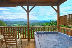 Bella Vista -- After a long day of shopping and fun, relax in your bubbling hot tub while enjoying the natural beauty of the Great Smoky Mountains.