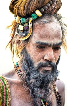 Sadhu - (Holy Man) India