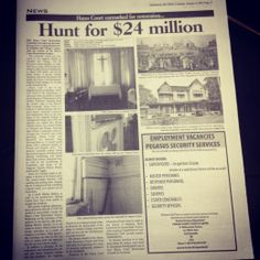 #estuaryPRStopPress: #HayesCourt in need of funding. In the Sunday #Newsday. #TagThis #MagnificentSeven