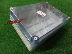 cassetta stagna da parete scatola derivazione coperchio trasparente 300x220x120