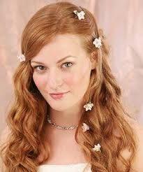 Resultado de imagen para tocado de novia con cabello suelto
