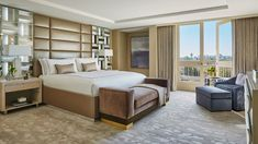 The+newly+renovated+Royal+Suite+with+views+of+Beverly+Hills.