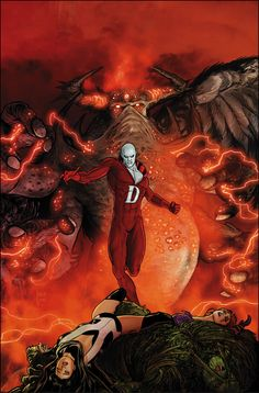 Justice League Dark#34 by Mikel Janin