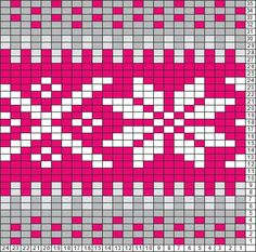 Tricksy Knitter Gráficos: sombrero de Danica por KnittyPretty