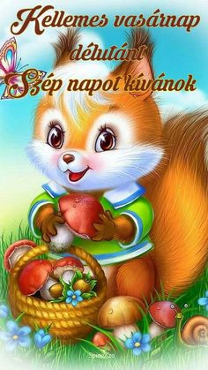 Diamond Painting Cross-Stitch Kits DIY Diamond Embroidery Pictures Of Rhinestones Paintings By Numbers Animal Squirrel Animals And Pets, Baby Animals, Cute Animals, Cartoon Mignon, Art Mignon, Cute Cartoon Images, Cross Paintings, Cellphone Wallpaper, Illustrations