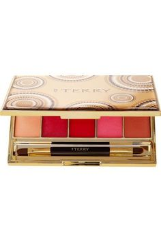 By Terry - Gold - Jewel Lip Kiss Palette - Colorless