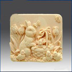 Soap Mold Mould Silicone Mold Flexible Mold Cake by artdeco123, $8.99