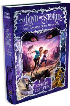 THE LAND OF STORIES By Chris Colfer | #1 New York Times Bestseller