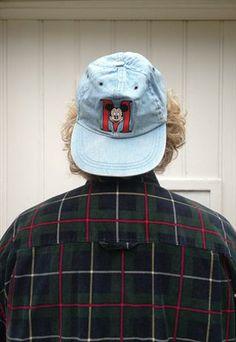 90's Mickey Denim Snapback Cap