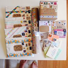 paper pastries: Sent with Love No. 43-- this giant stack of mail is making me feel so happy