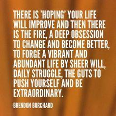Brendan Burchard quote