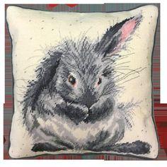 Needlepoint Pillows, Needlepoint Kits, Bothy Threads, Wrendale Designs, Tapestry Kits, Cross Stitch Supplies, Back Stitch, Crochet Yarn, Blackwork
