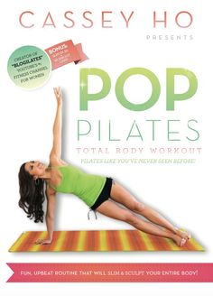 POP Pilates Total Body Workout DVD. I can't wait to try this out!