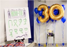 Decora una fiesta 30º cumpleaños con globos especiales / Decorate a 30th birthday party with special balloons