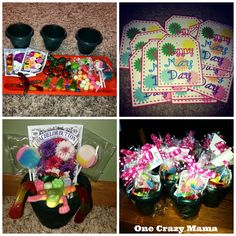 May Baskets 2014 May Day Baskets, Gift Baskets, May Days, Beltane, Girl Scouts, Perler Beads, Holiday Crafts, Crafts For Kids, Daisy