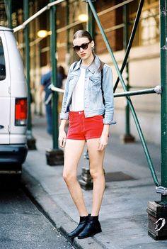 10 Stylish Ways to Wear Short Shorts