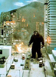 Terrorífica imagen de King Kong 2.