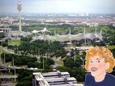 Olympiapark München Hier genießt Du mit uns die Aussicht auf den Olympiapark!