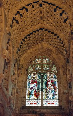 Rosslyn Chapel. This place is definitely worth taking the time to visit.